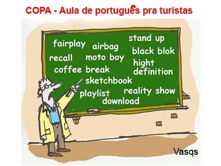 Esse português todos conhecem.  Problemas são os pra mim comer, fazem dez dias....